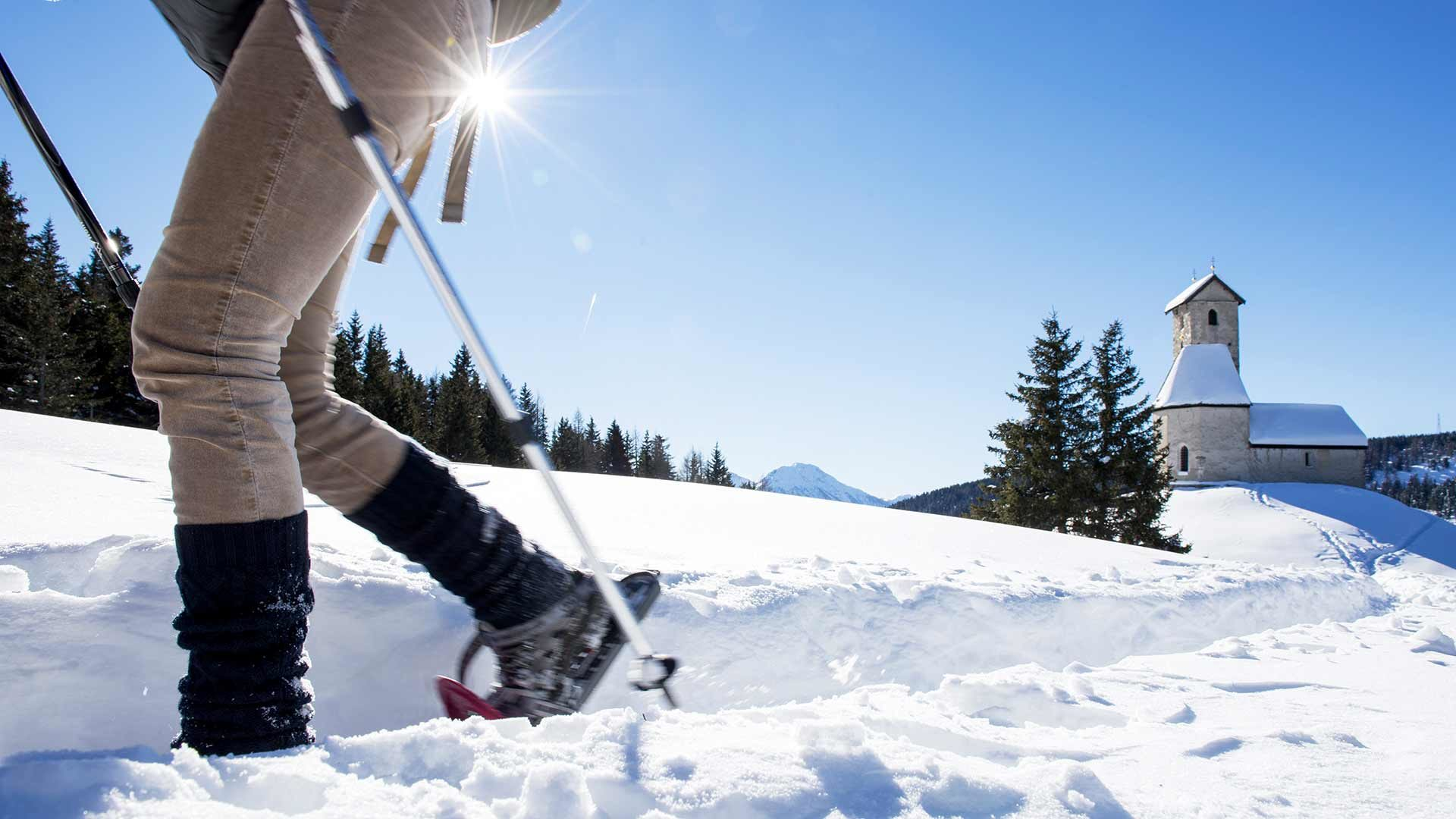 Winterausflug auf das Vigiljoch