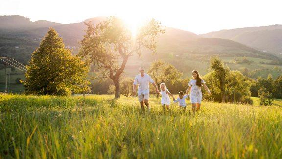 Familienurlaub im Meranerland