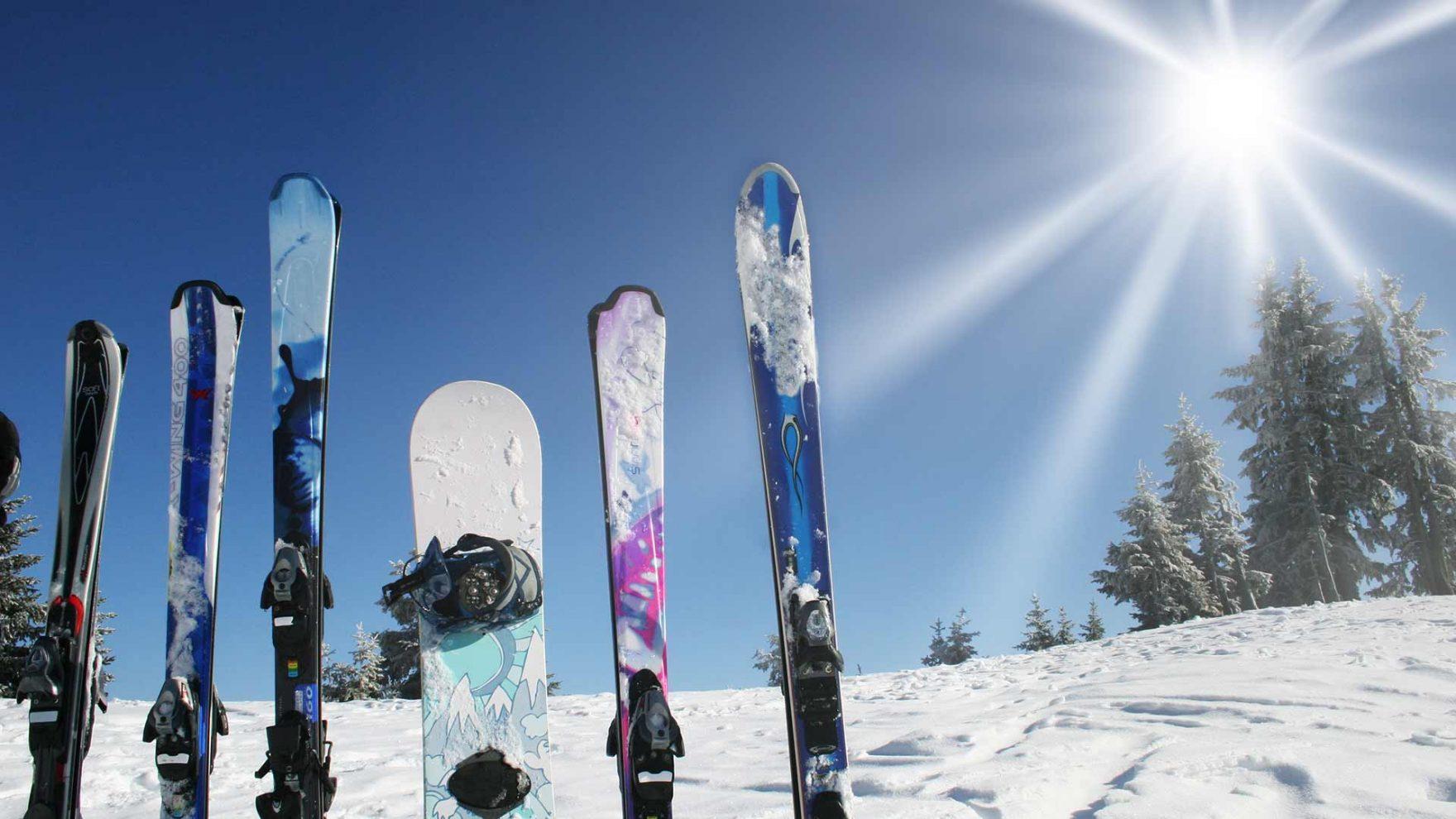 Frühling in Meran und Umgebung - Skifahren