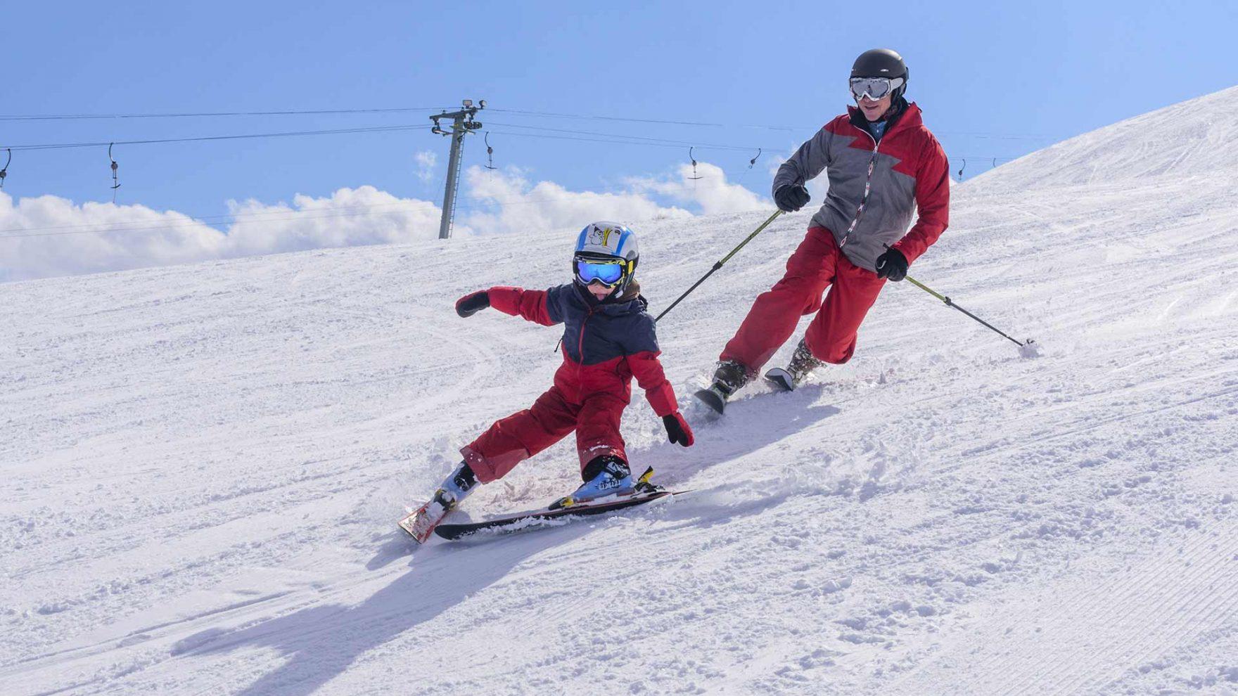 Herbst in Meran und Umgebung - Skifahren