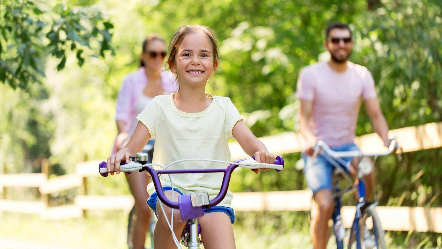 Radtour mit der Familie - Meran