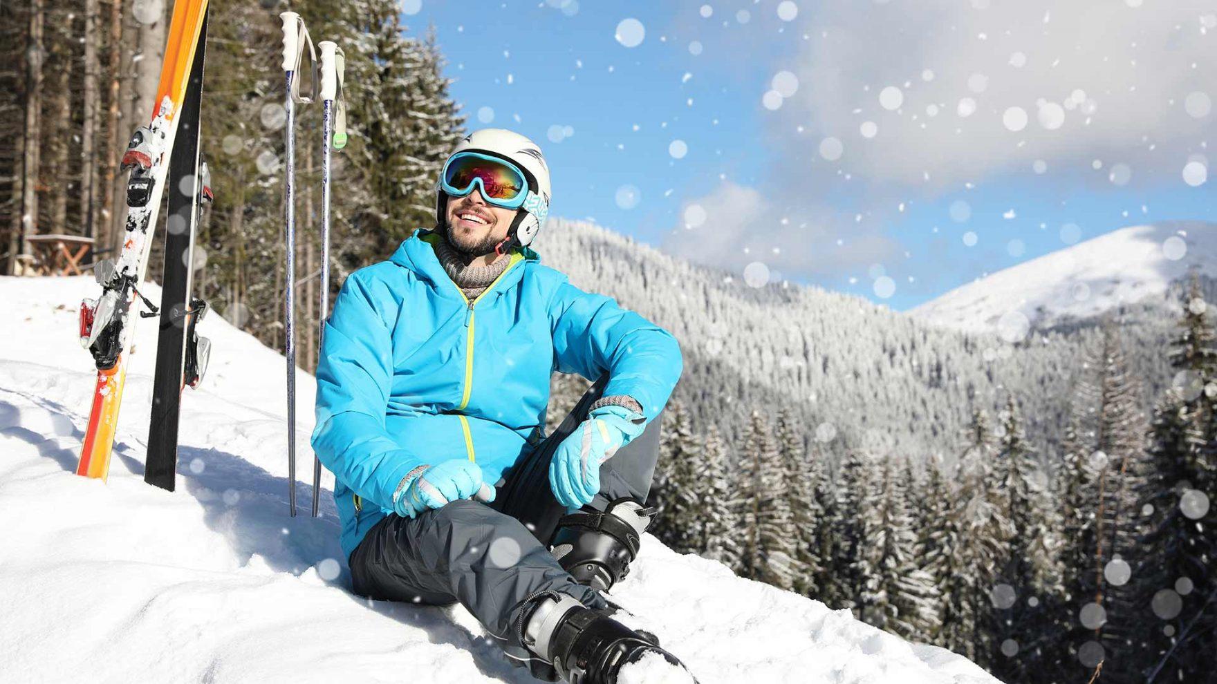 Skiurlaub genießen