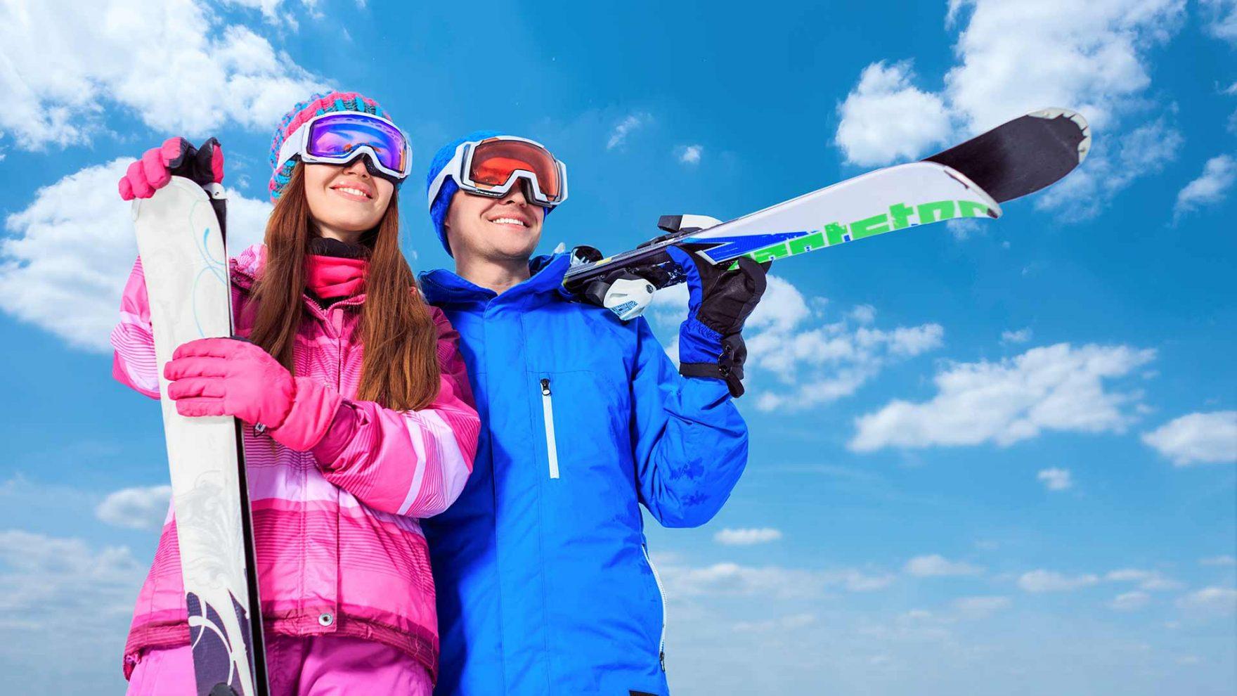 Skifahren - Skigebiet im Meranerland