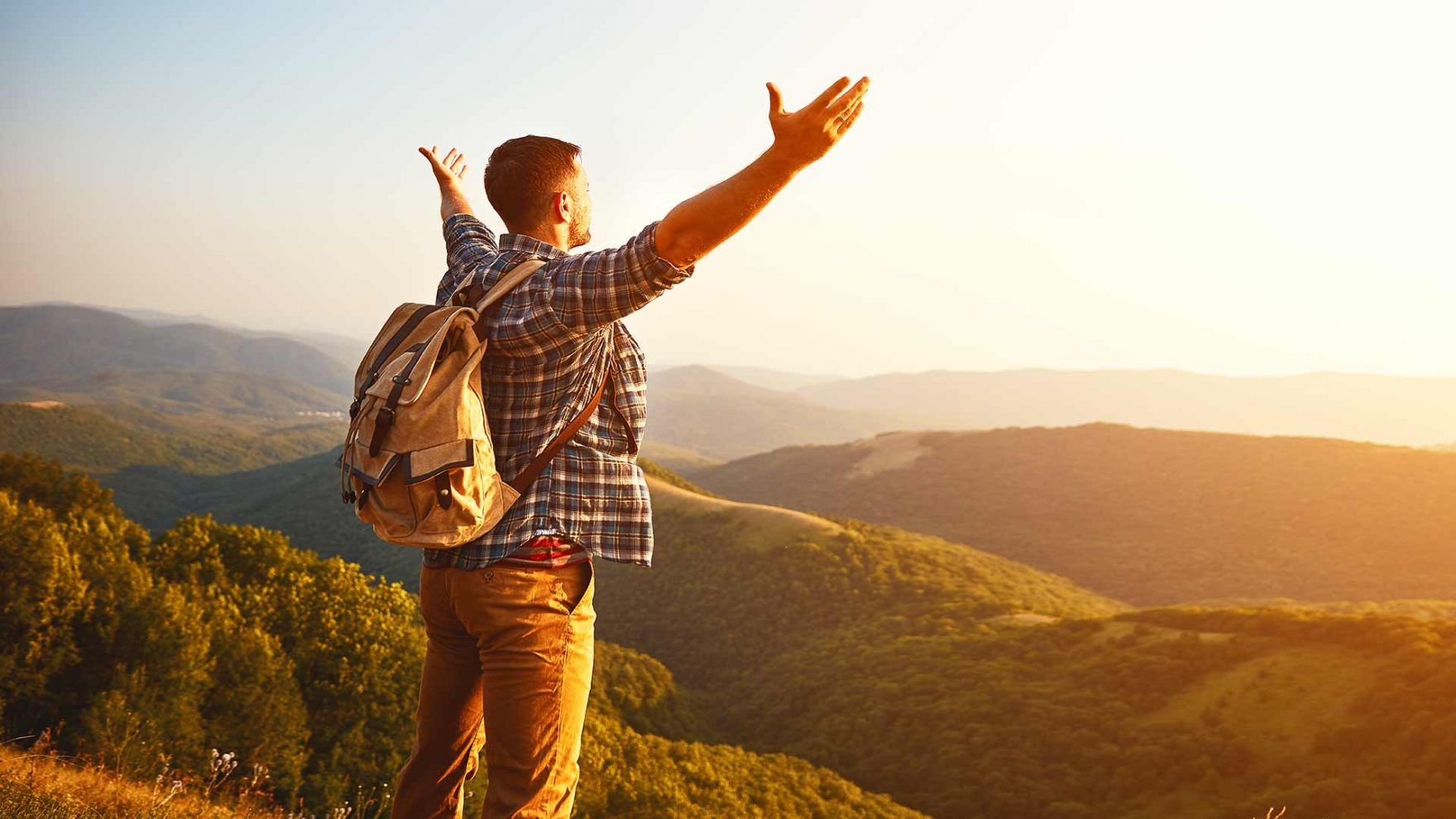 Wandern - Aussicht genießen