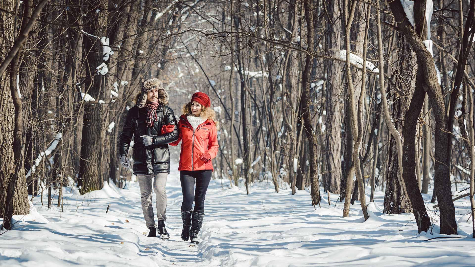 Wandern im Winter - Meranerland