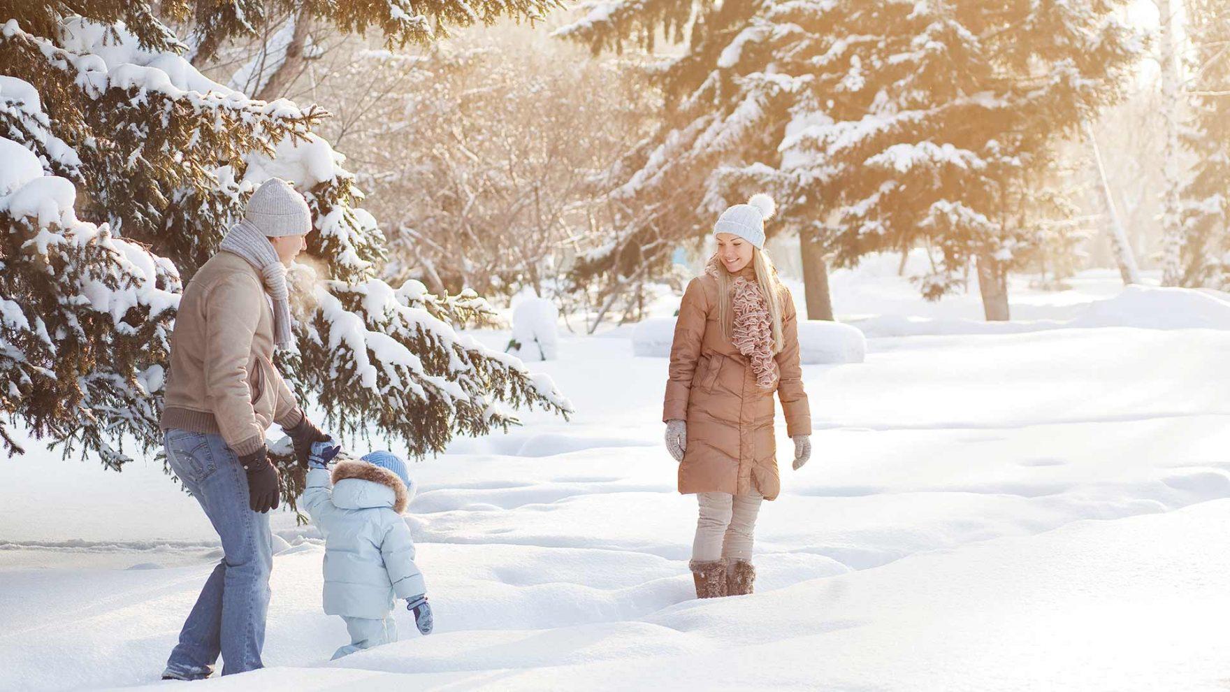 Winter in Meran und Umgebung - Familienurlaub