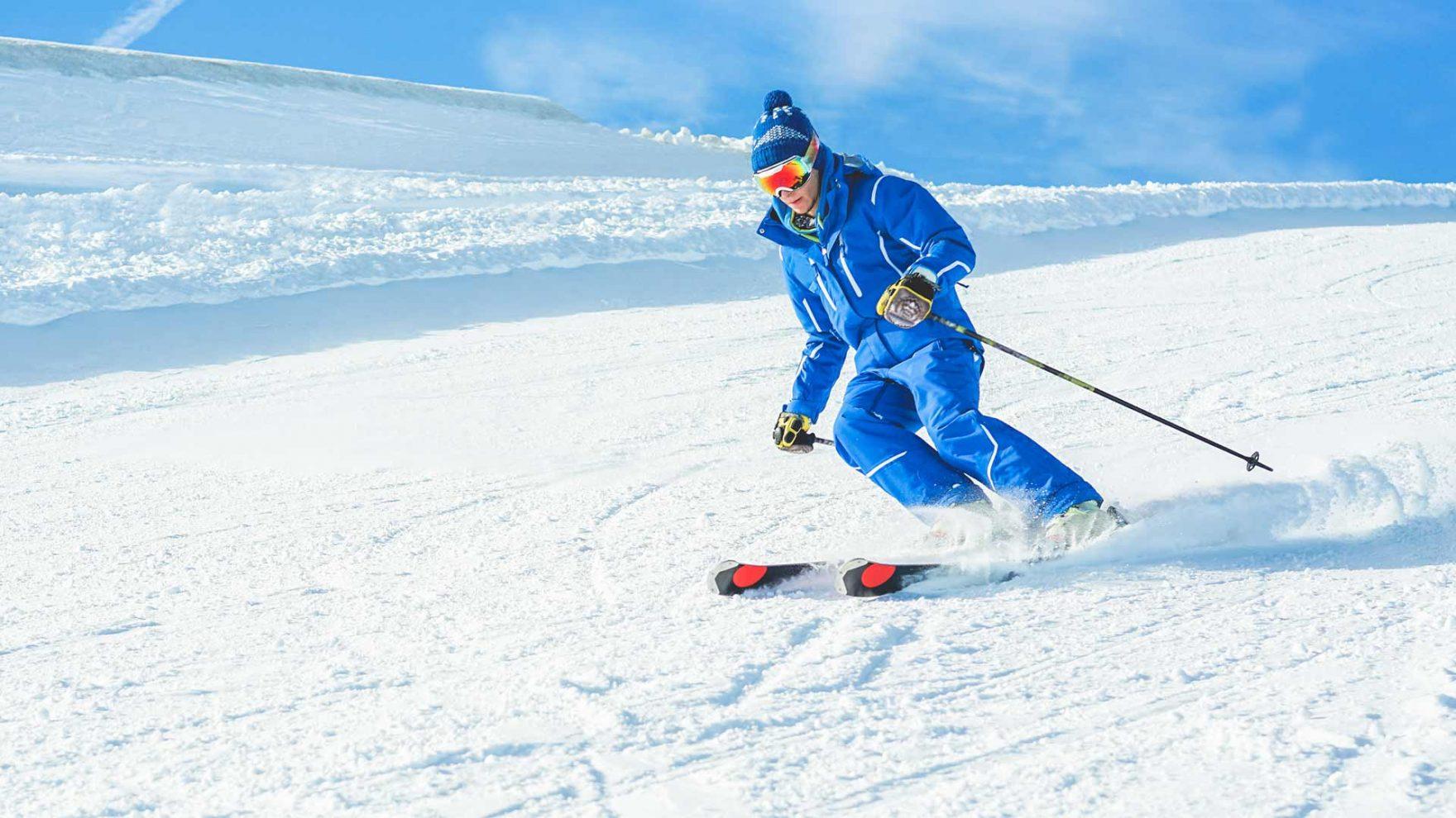Winter in Meran und Umgebung - Skifahren