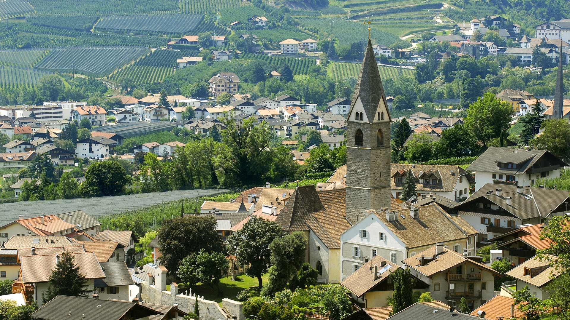 Die Kirche von Algund