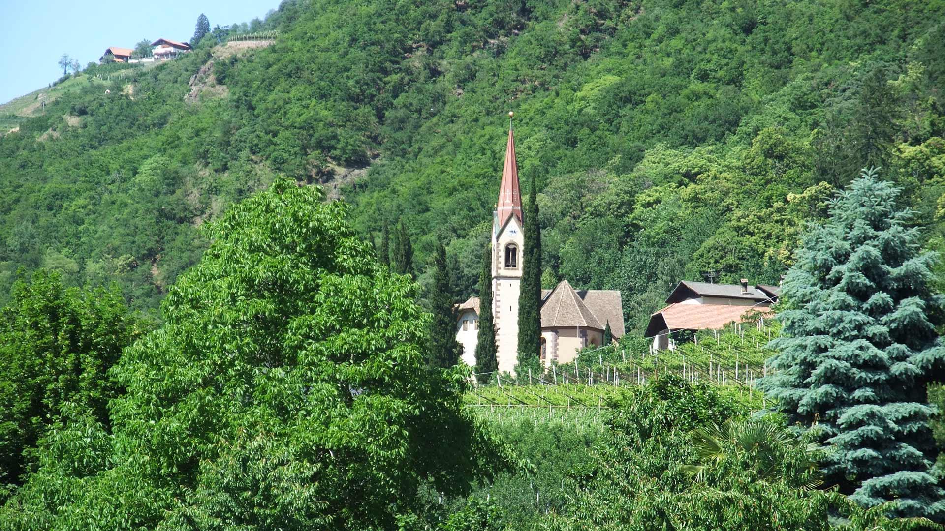 Burgstall bei Meran - Kirche