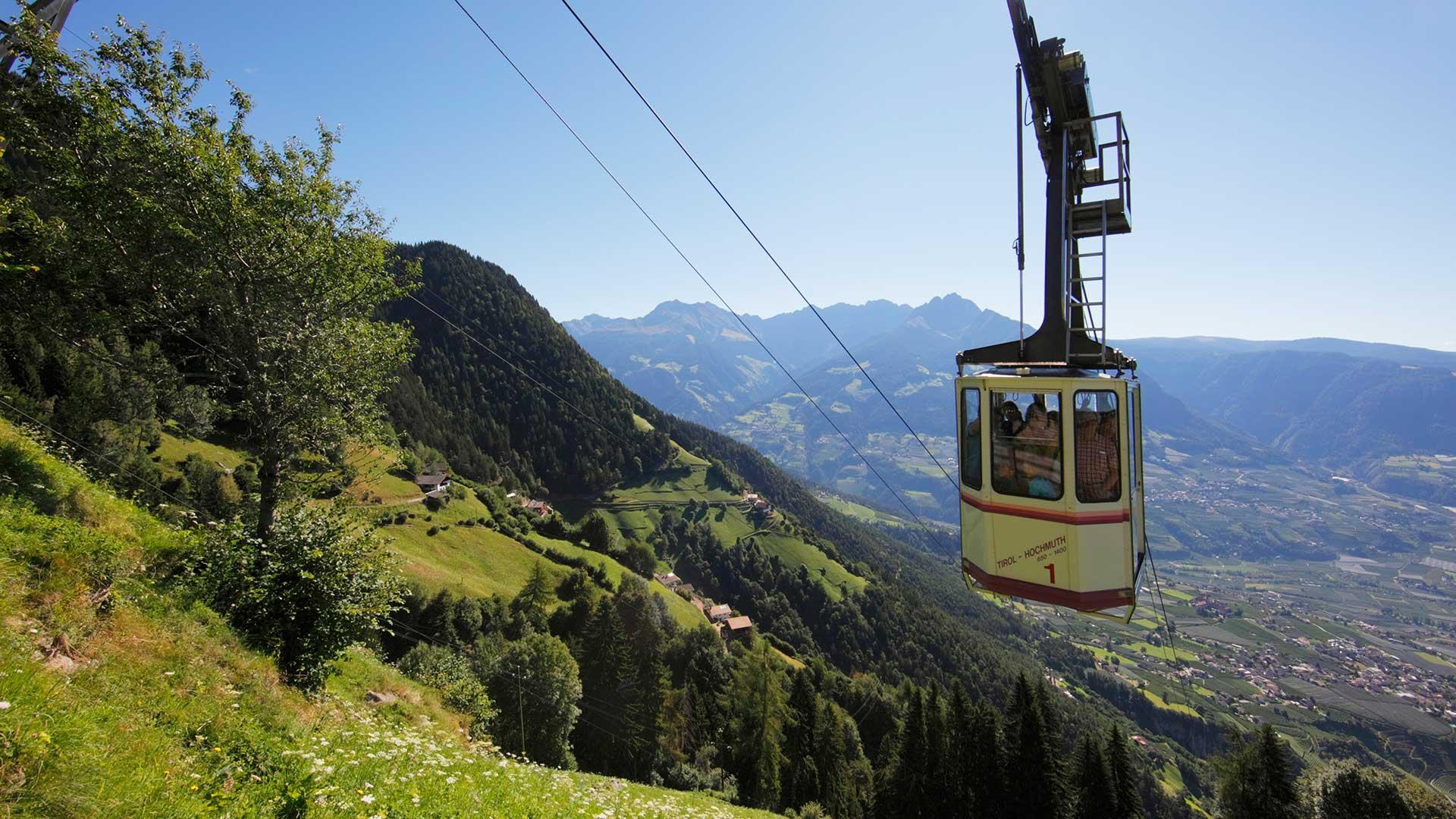 Seilbahn Hochmuth - Dorf Tirol