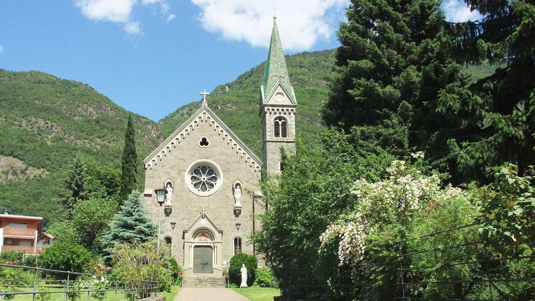 Die Herz Jesu Kirche - Gargazon