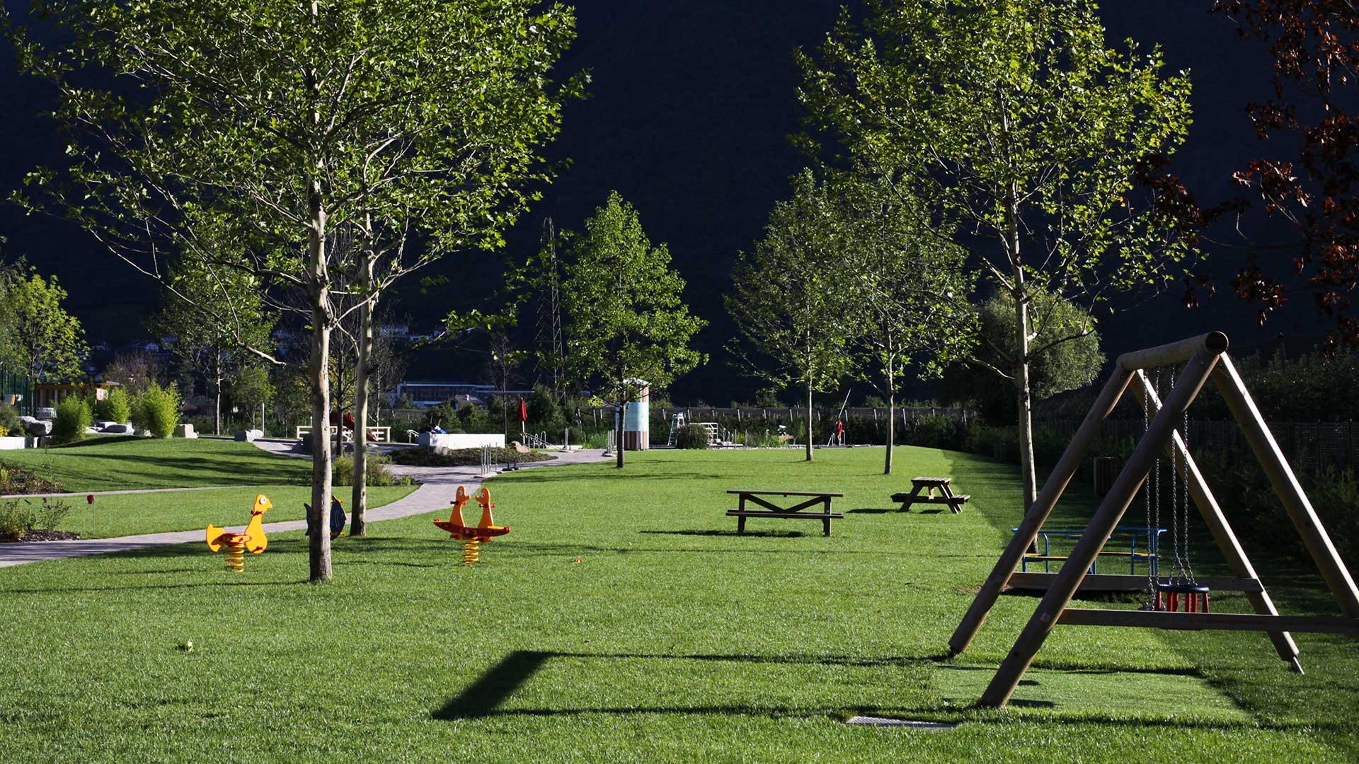 Spielplatz in Gargazon