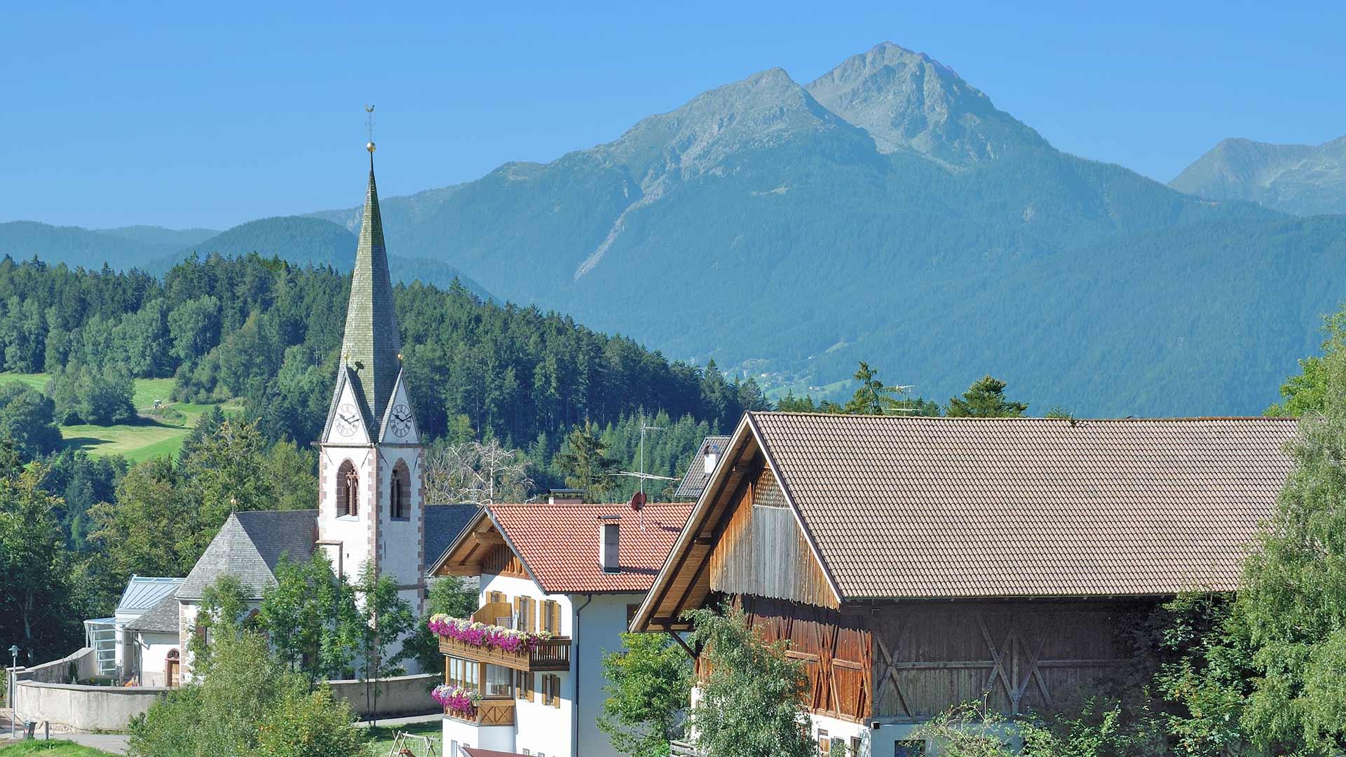 Kirche in Hafling