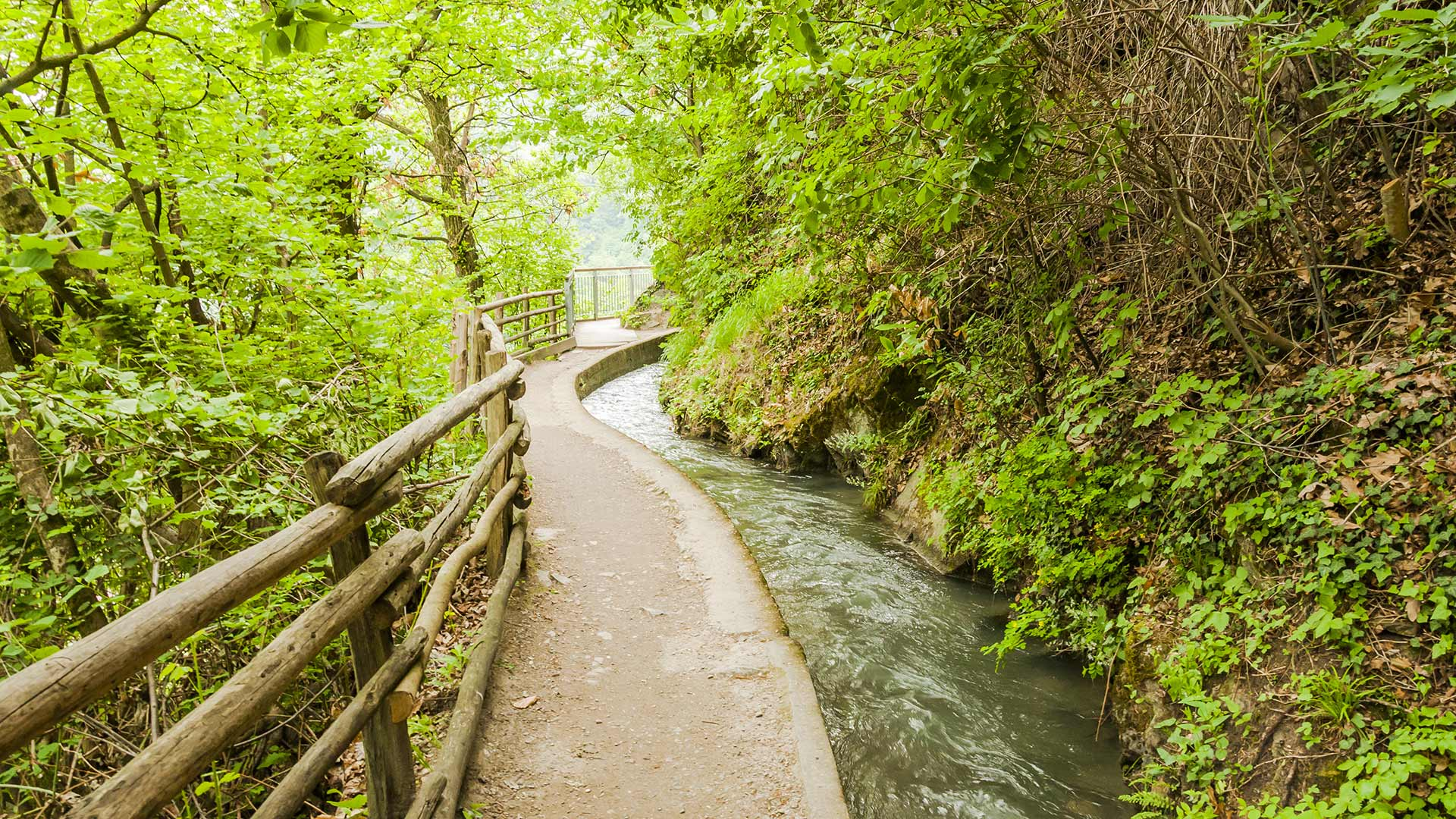 Der längste Waalweg Südtirols - Marlinger Waalweg