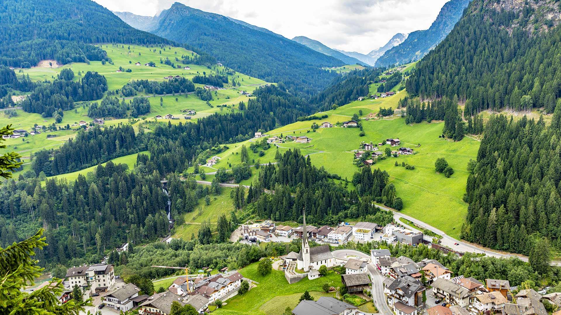 Urlaubsort - Moos in Passeier