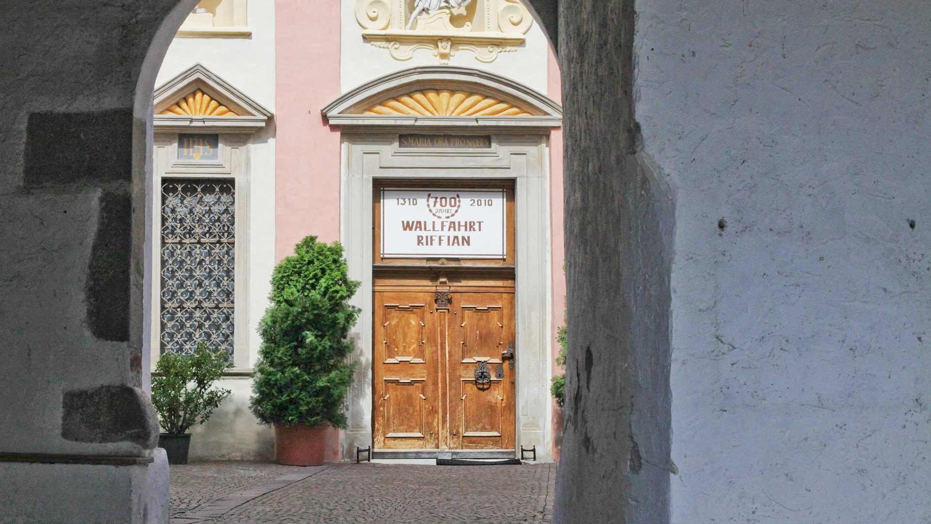 Wallfahrtskirche in Riffian