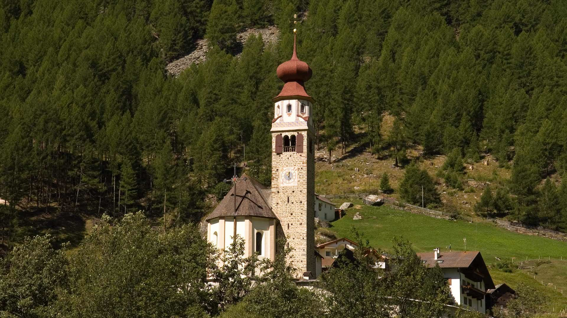 Kirche im Schnalstal