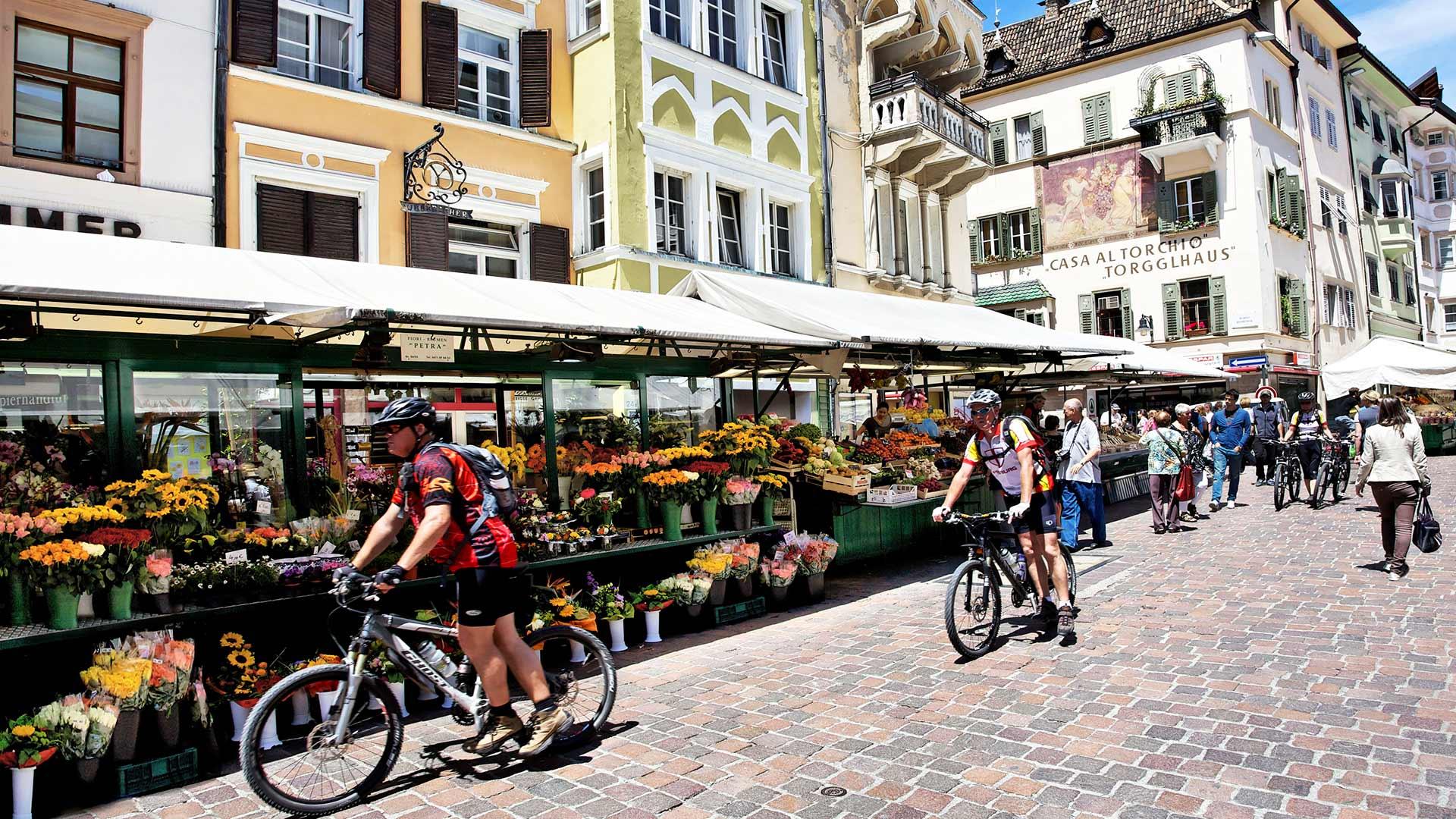 Radtour nach Bozen
