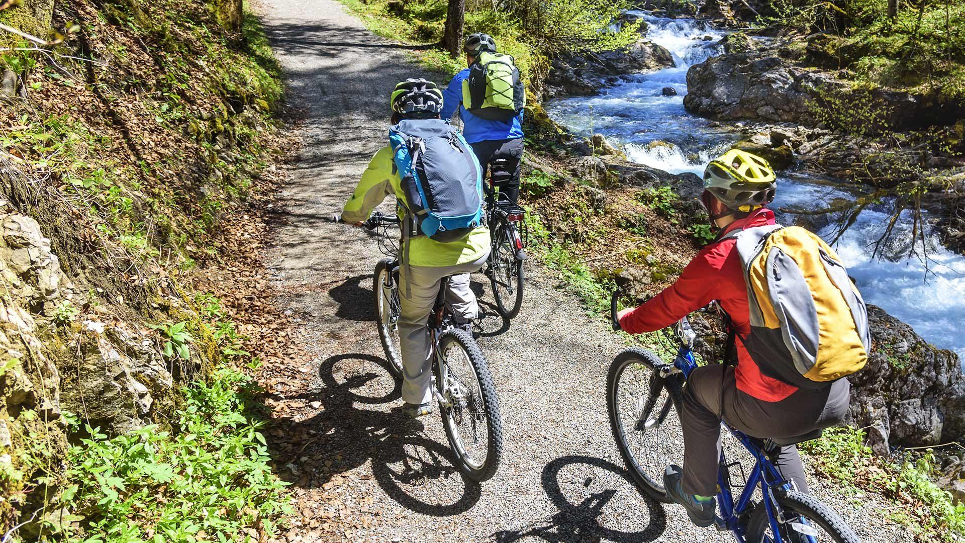 Radtour übers Eisjöchl
