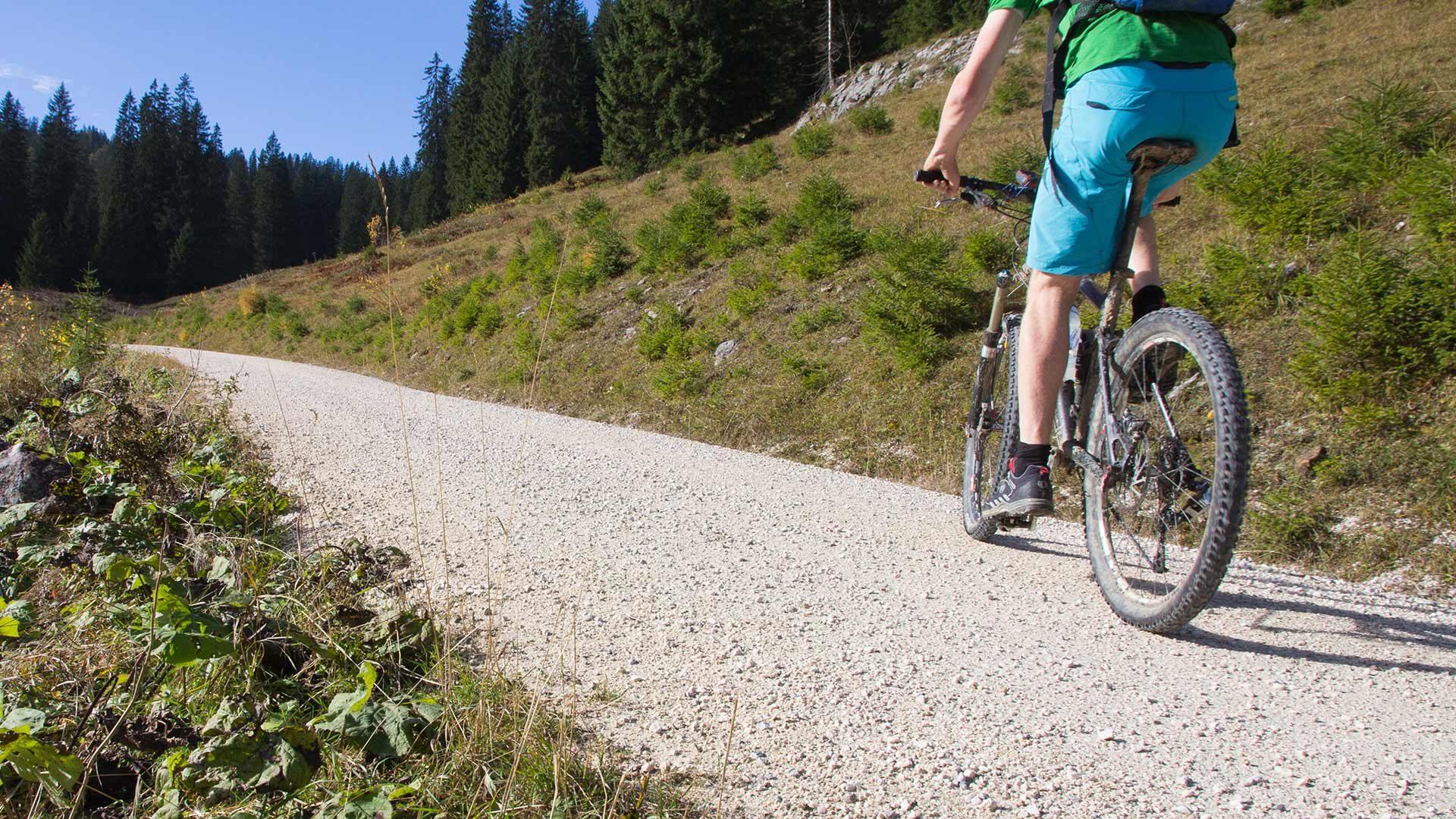 Radtour zur Gampen Alm