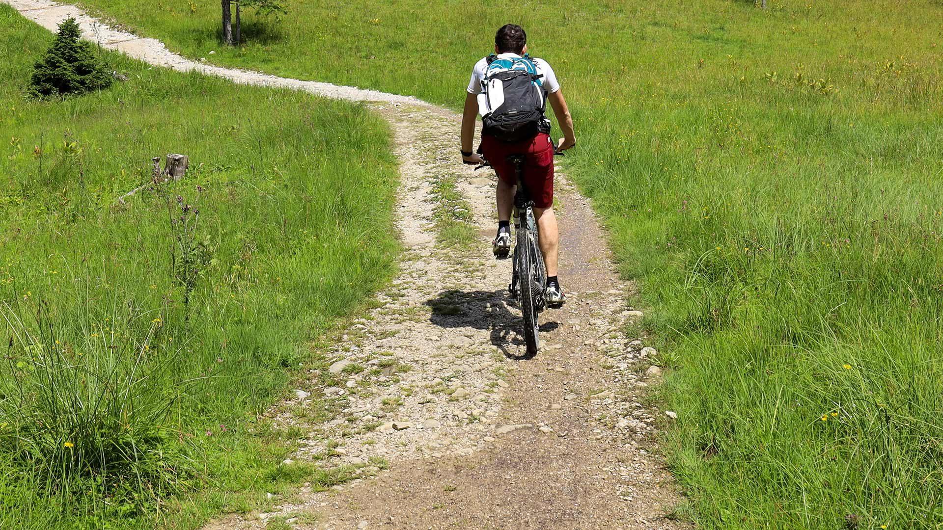 Radtour zur Klosteralm