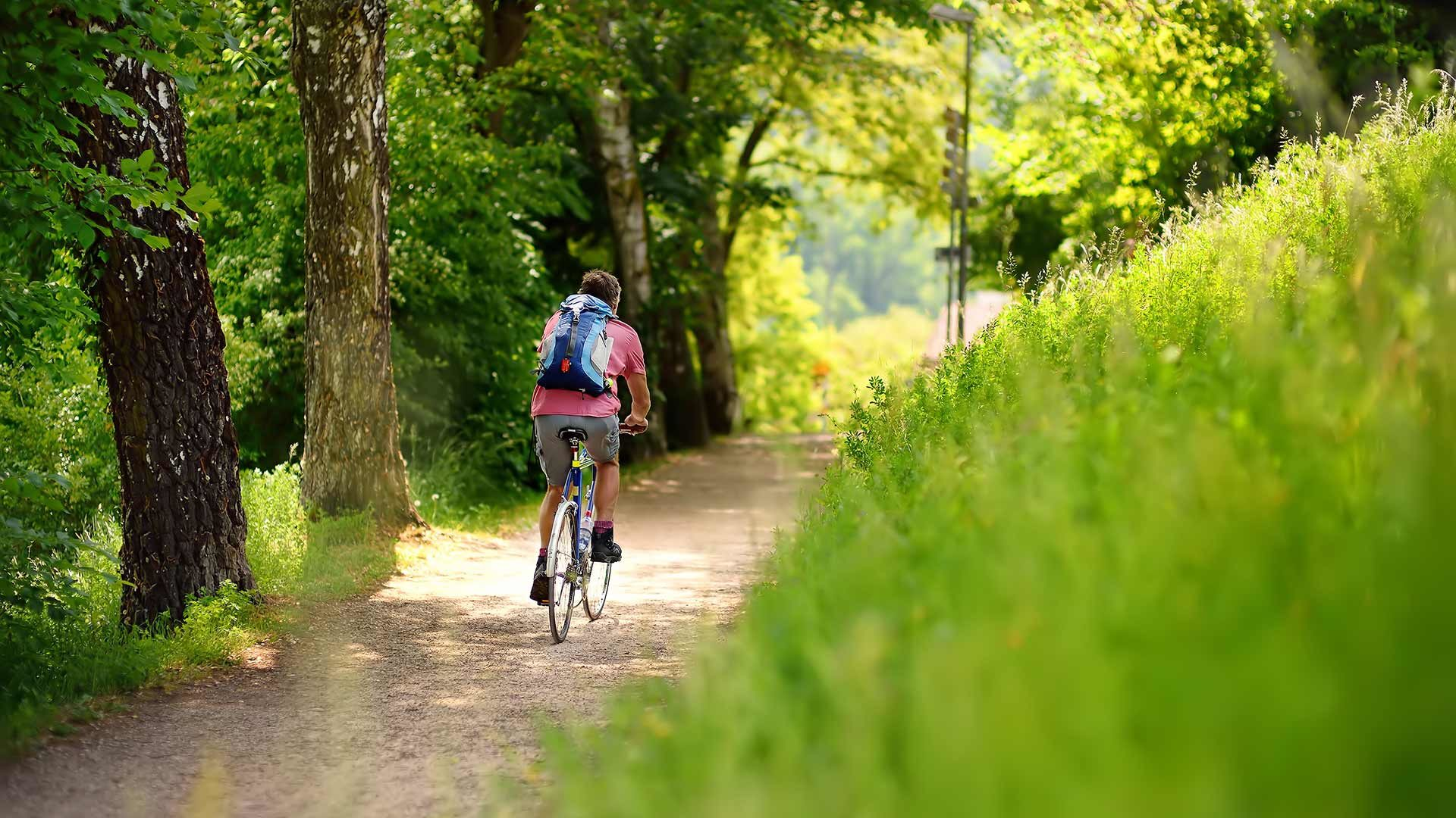Radtour Meran - Dorf Tirol - Kuens - Meran