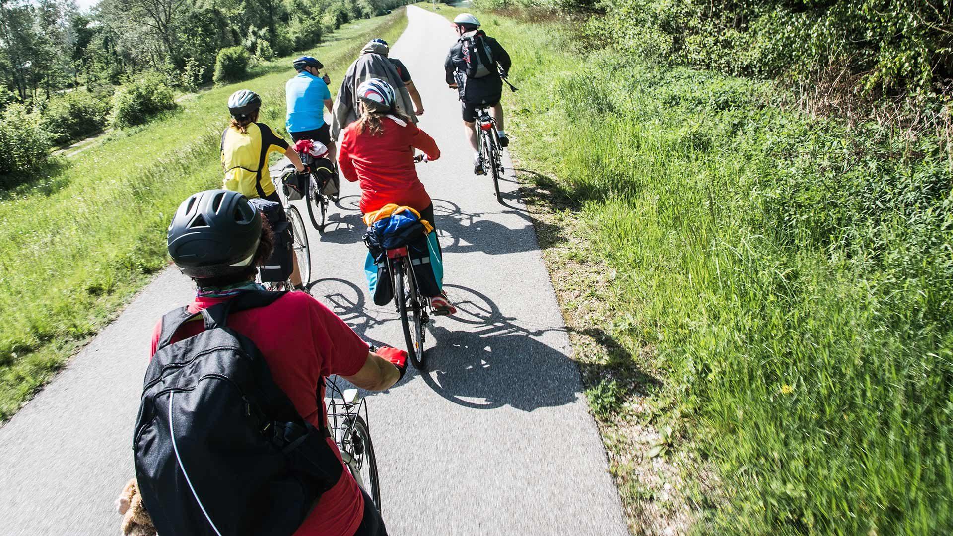 Radtour Naturns - Töll bei Algund