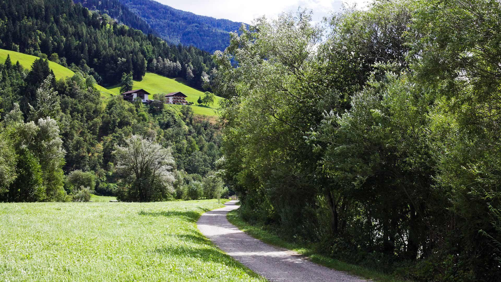 Radtour im Passeiertal