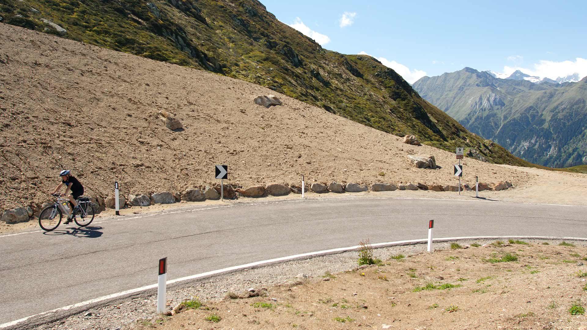 Rennradtour - Jaufenpass