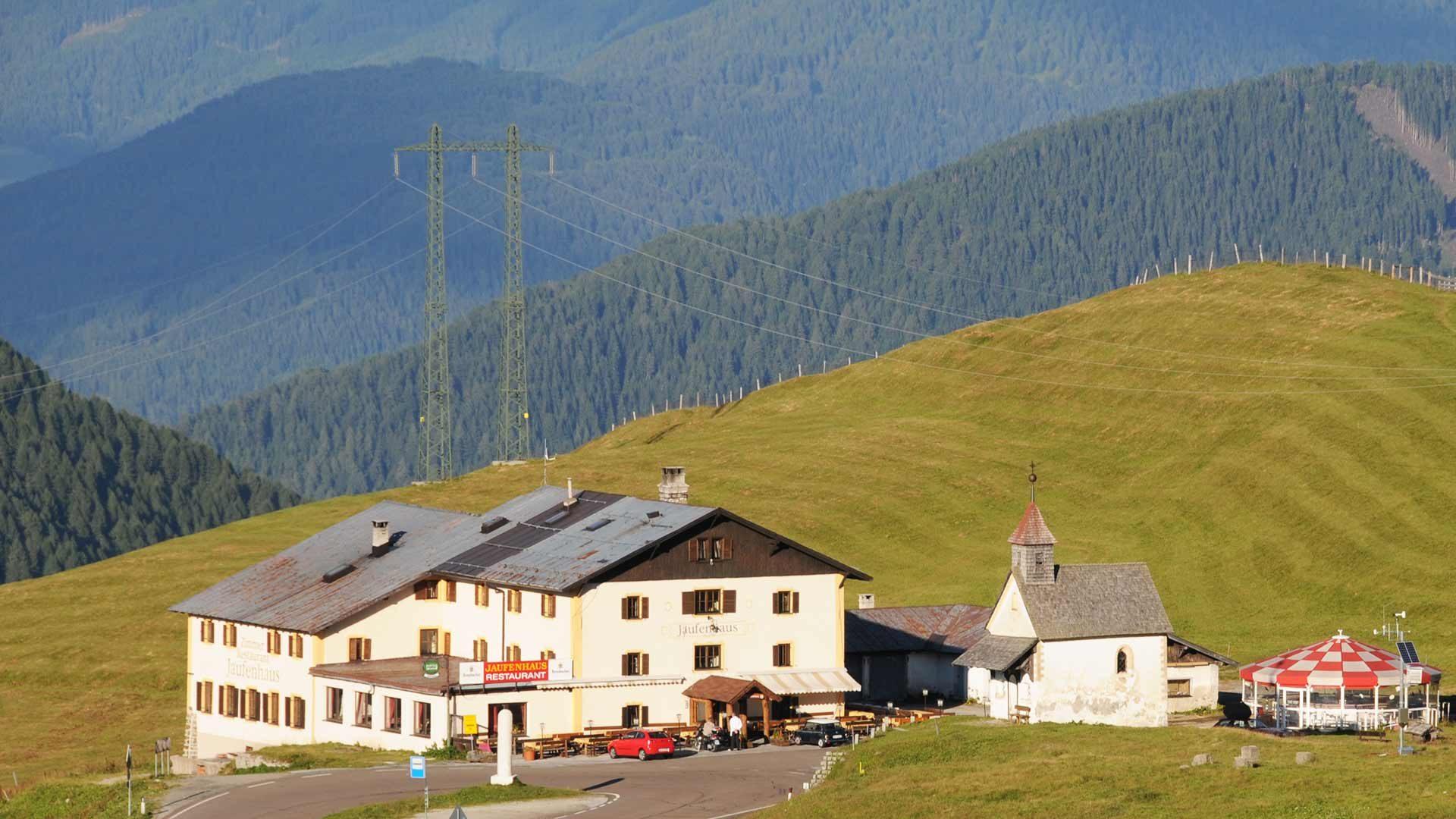 Jaufenpass in Südtirol - Rennradtour