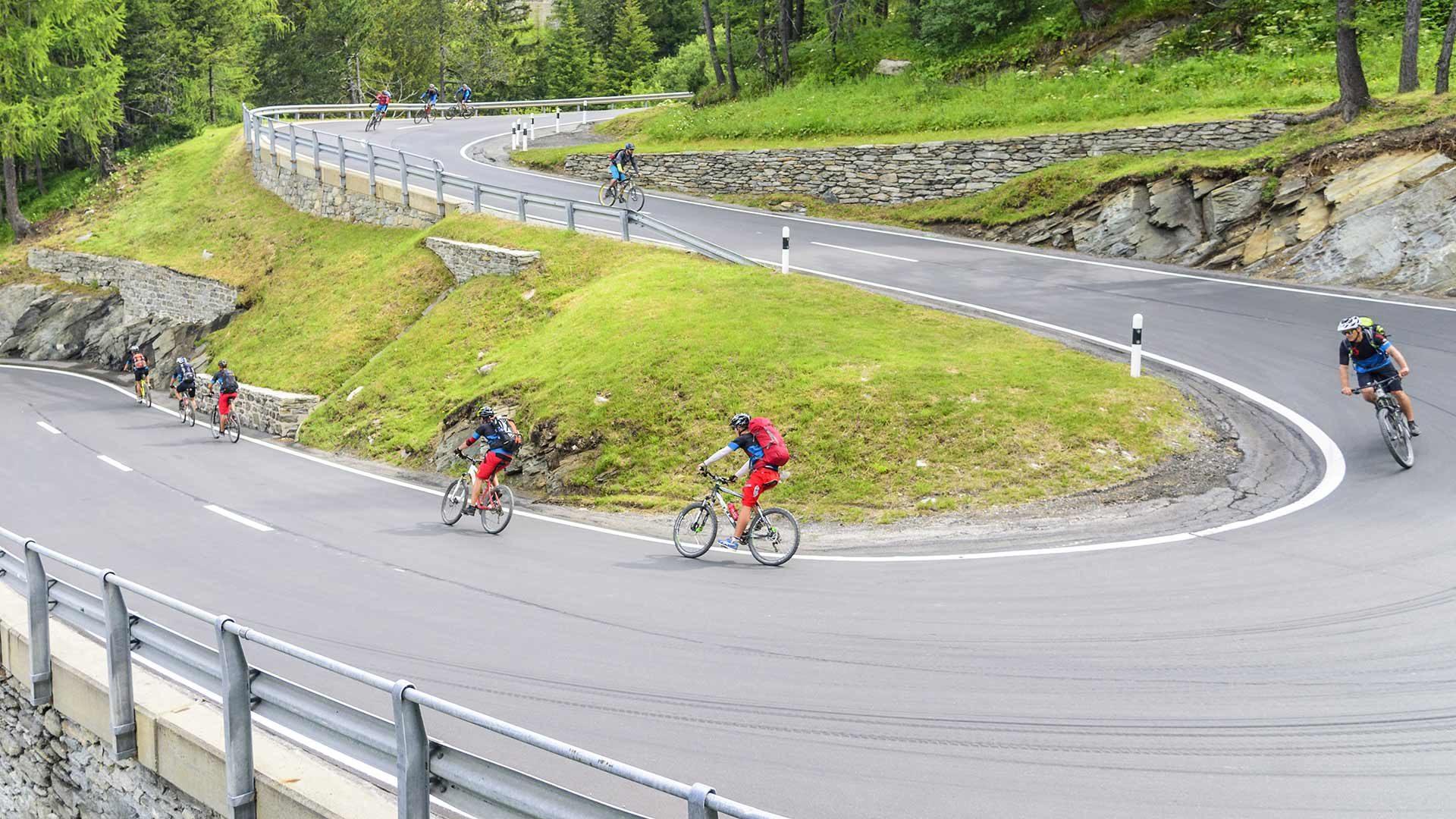 Rennradtour Mendel- und Gampenpass