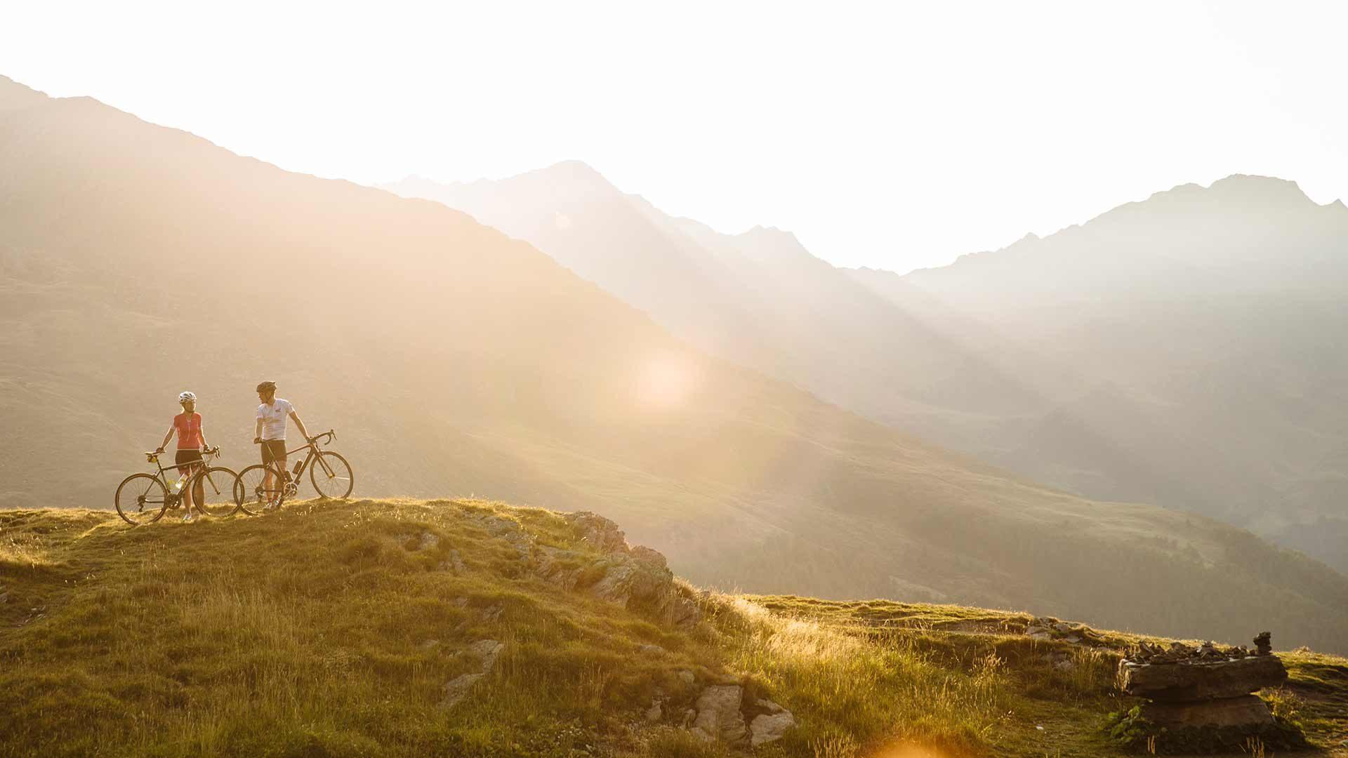 Rennradtour auf das Timmelsjoch in Südtirol