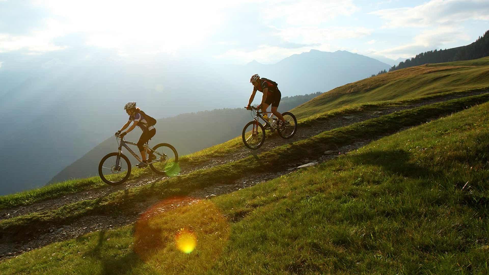 Radtour auf den Schennaberg