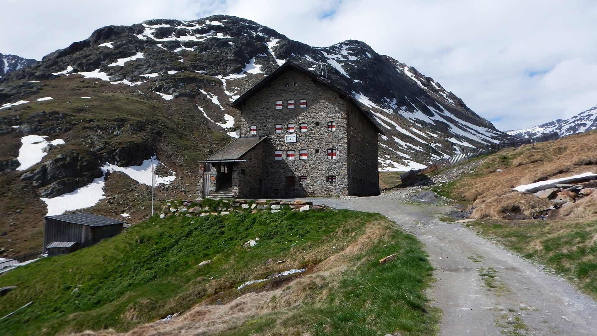 Radtour Similaunhütte