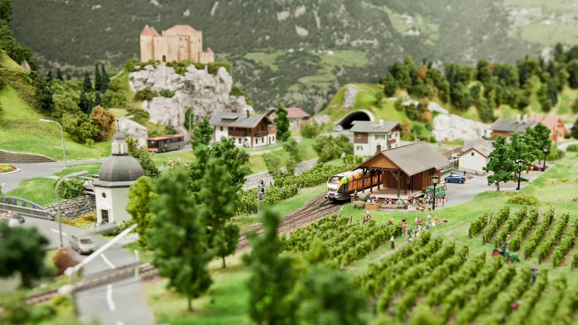Eisenbahnwelt in Südtirol