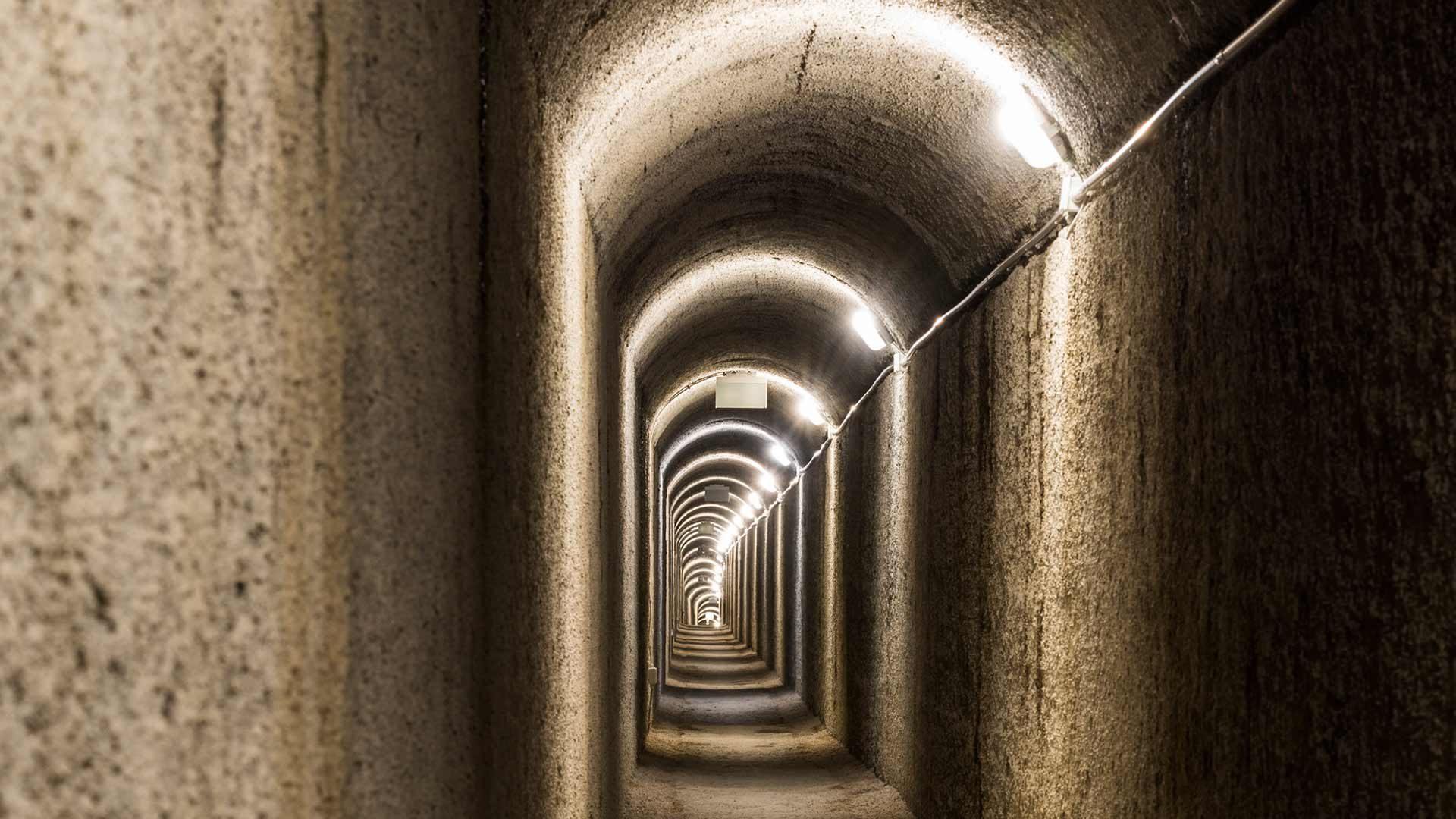 Gampen Bunker am Gampenpass