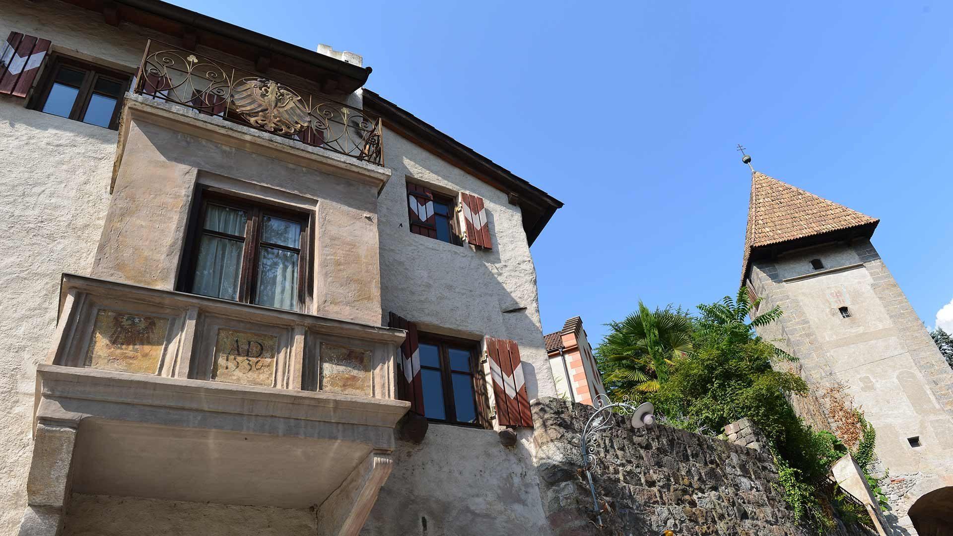 Altstadt von Meran in Südtirol