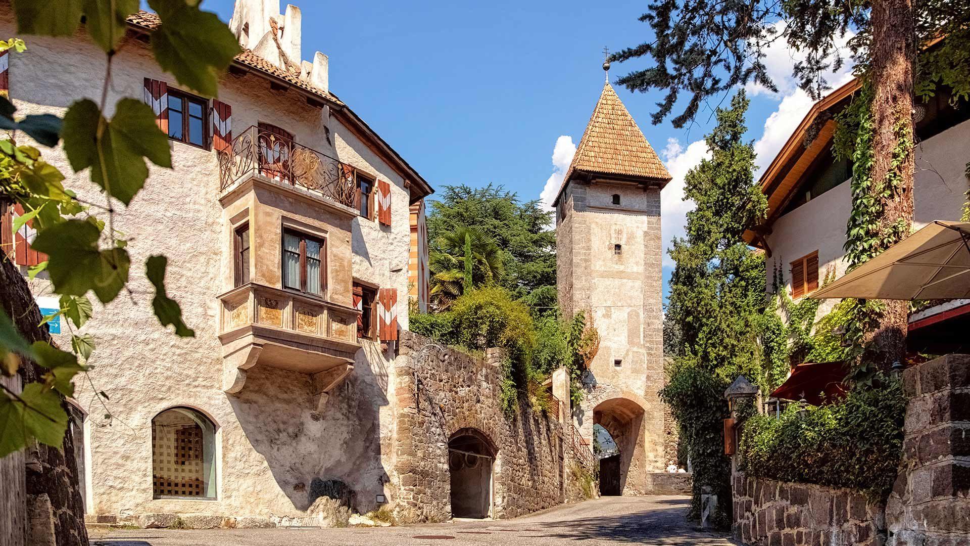 Die Altstadt von Meran