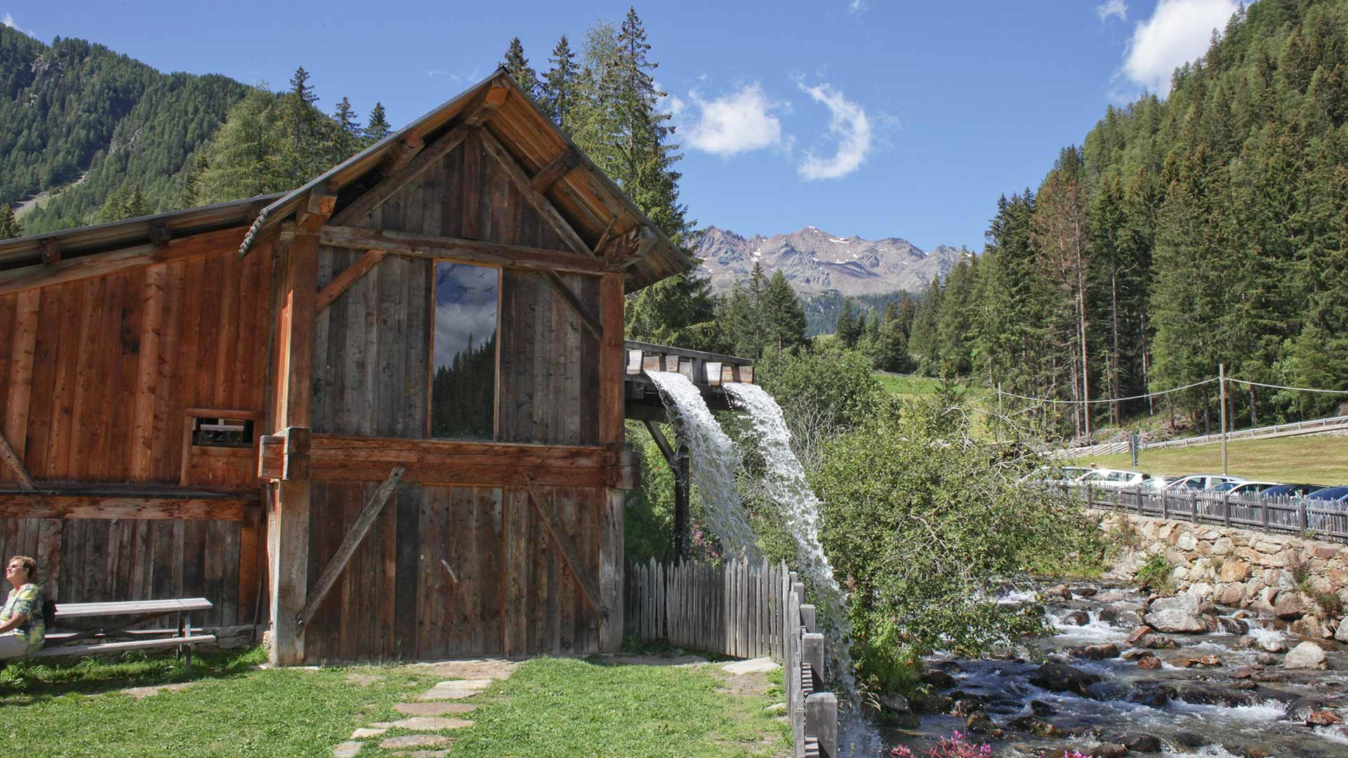 Nationalparkhaus Lahnersäge in Südtirol
