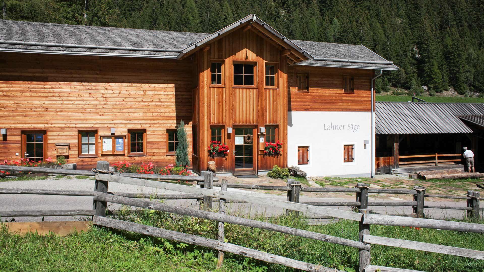 Nationalparkhaus Lahnersäge im Ultental