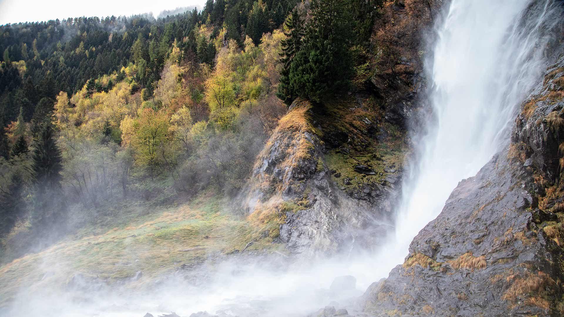 Ausflug zum Partschinser Wasserfall