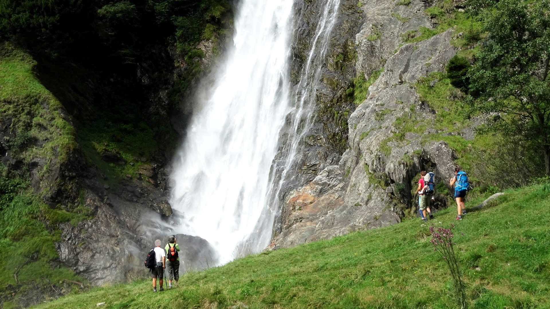 Wanderung zum Partschinser Wasserfall