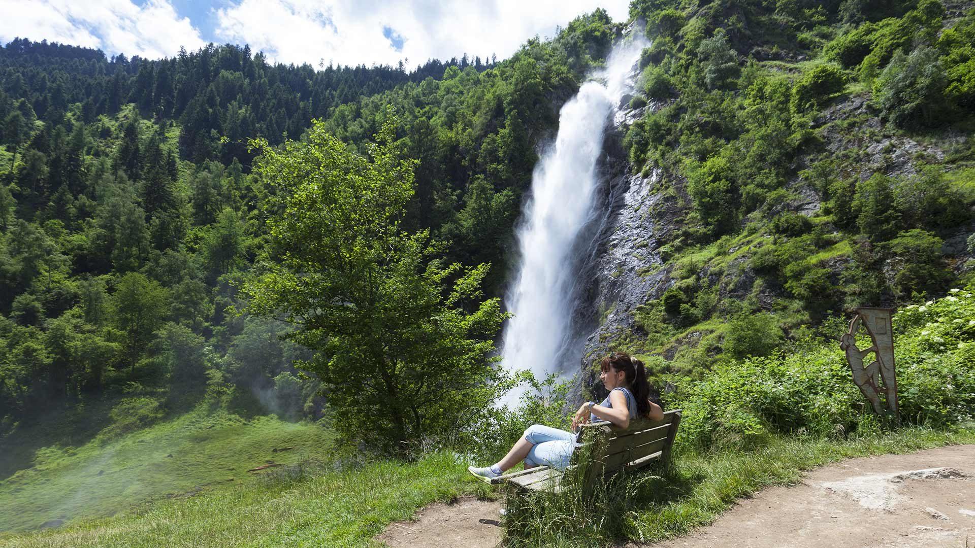 Partschinser Wasserfall in Südtirol