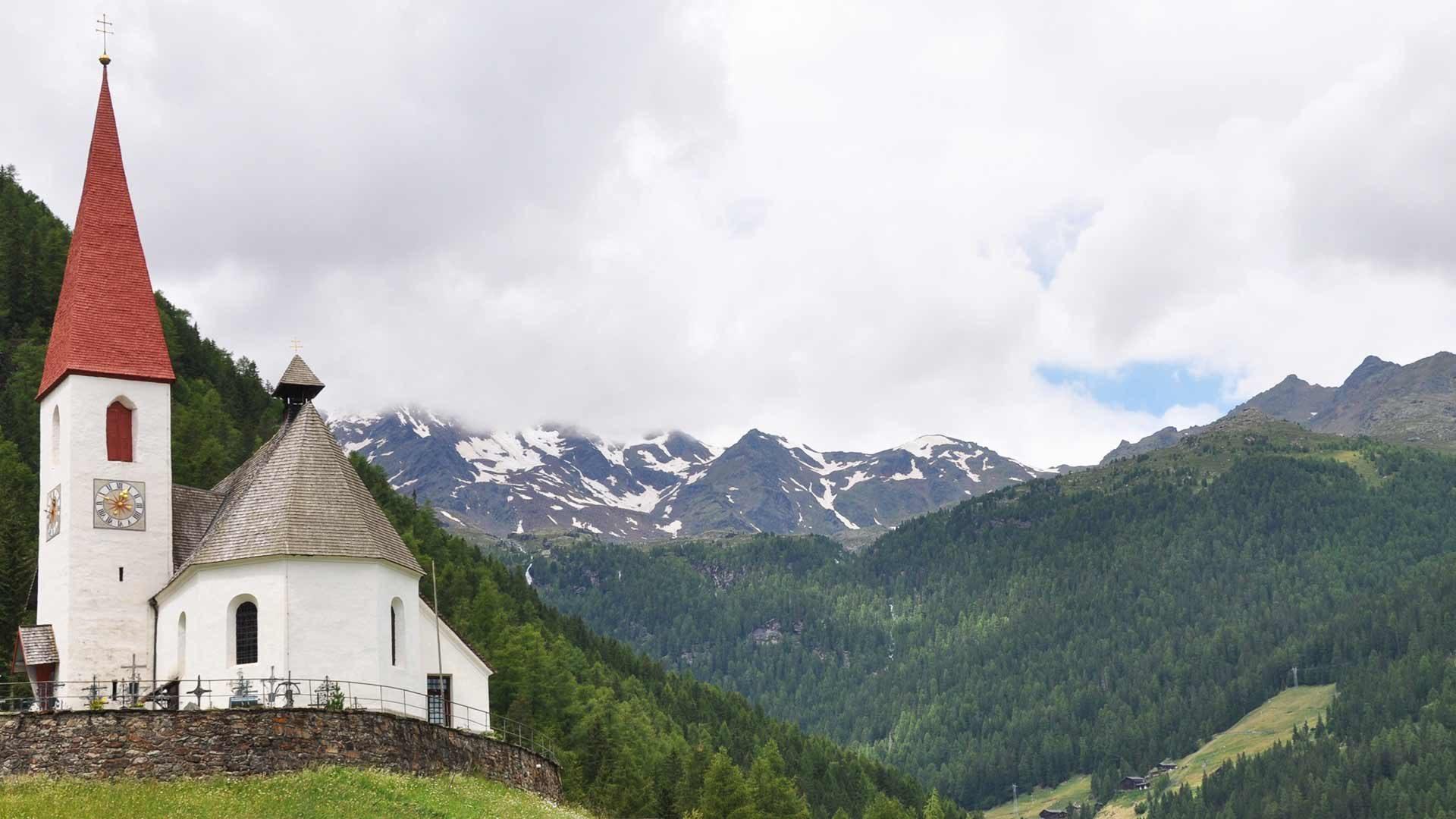 Pfarrkirche von Ulten