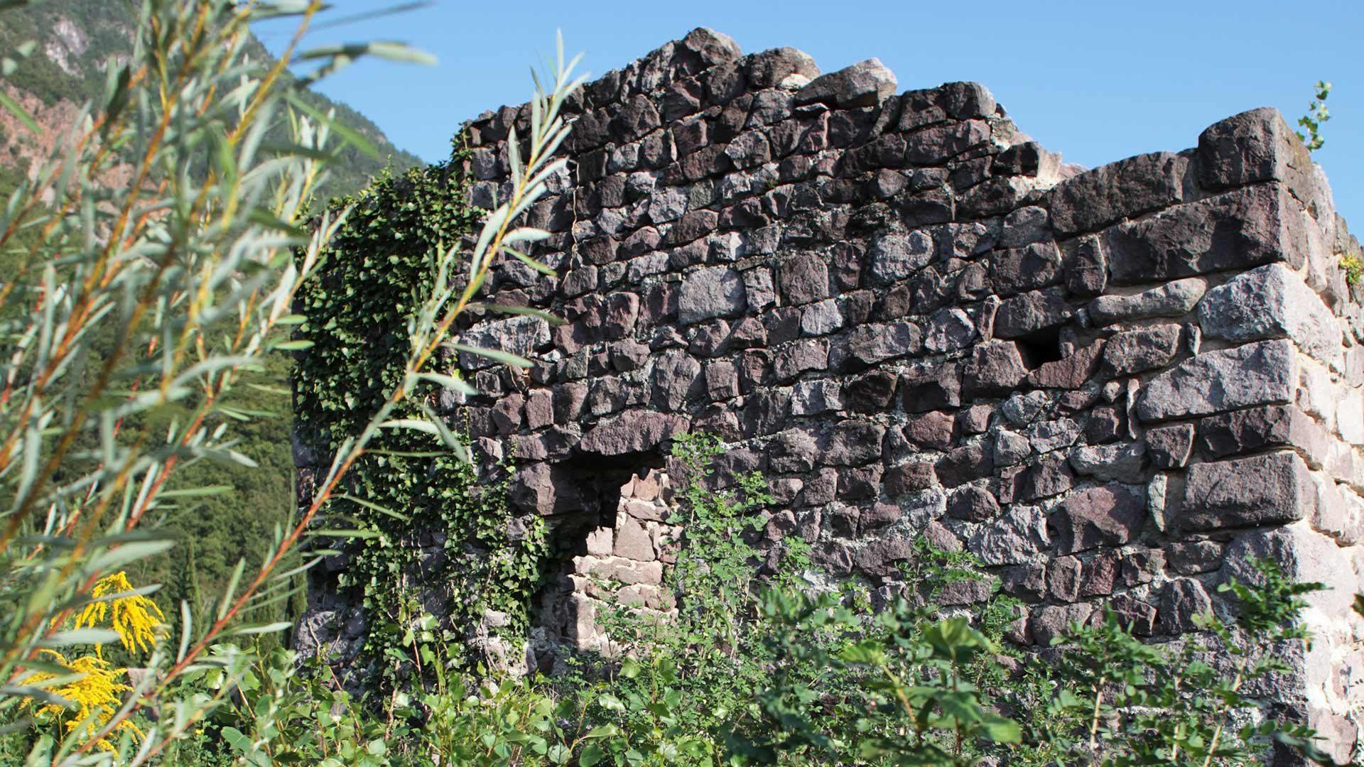 Die Ruine Burgstall