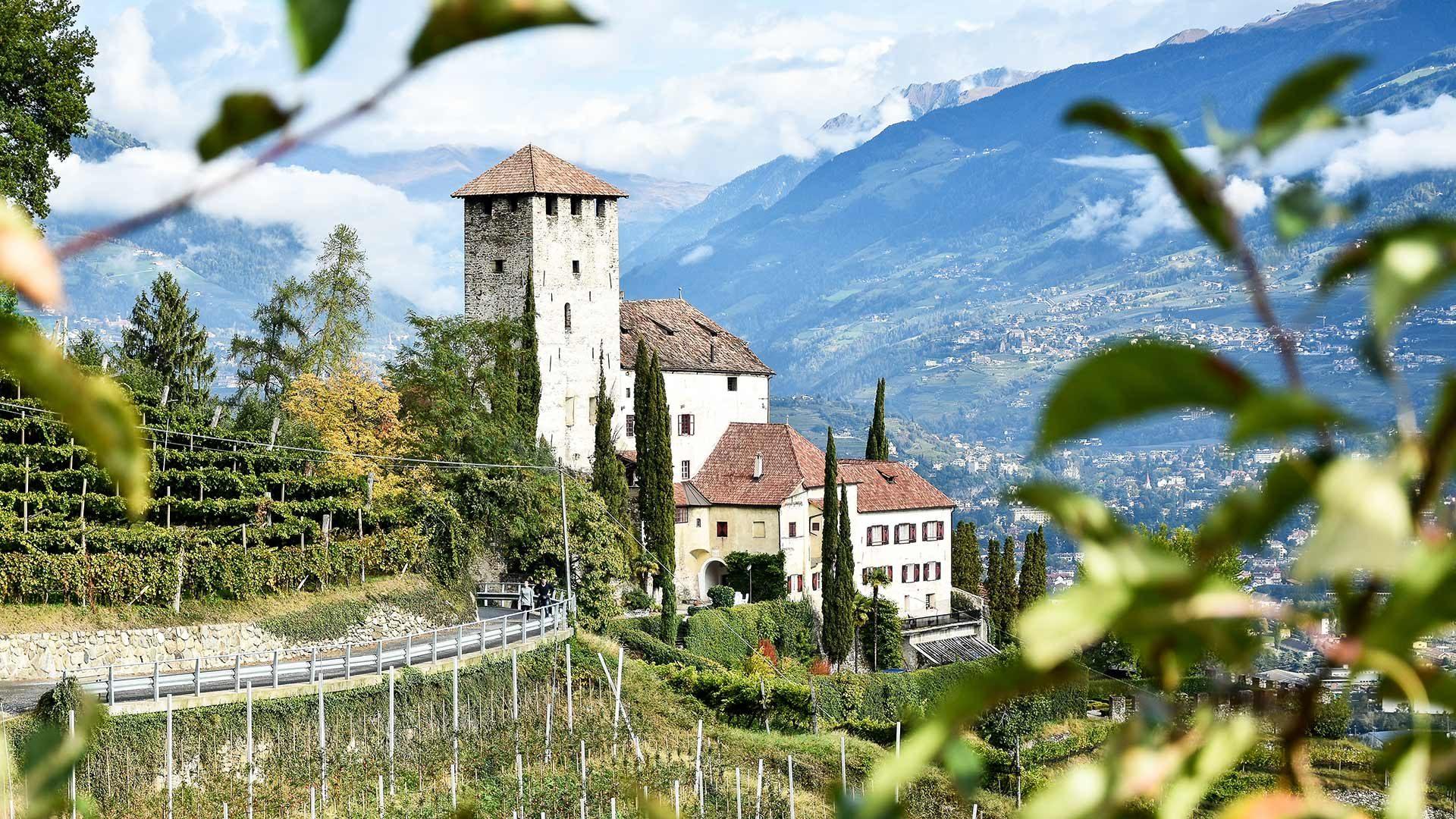 Schloss Lebenberg im Meraner Land
