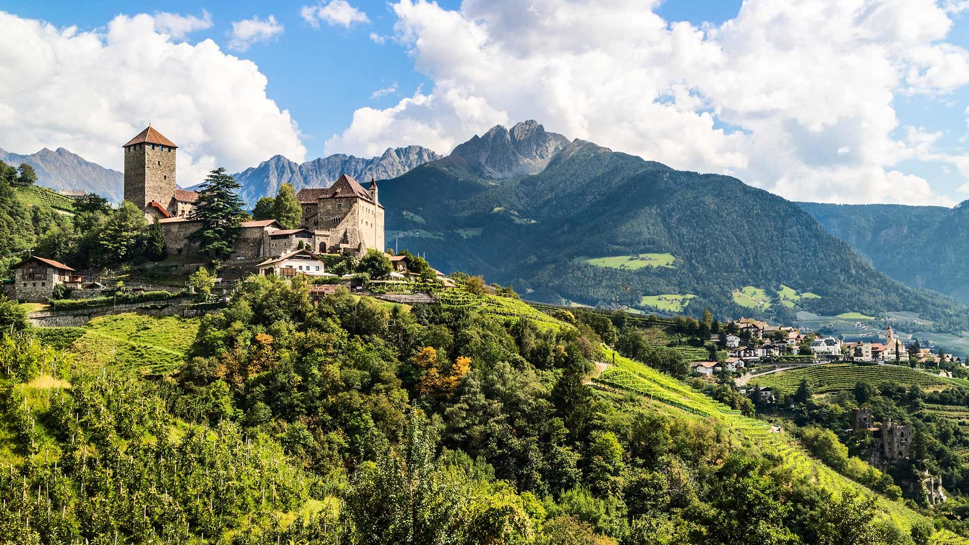 Schloss Tirol in Südtirol