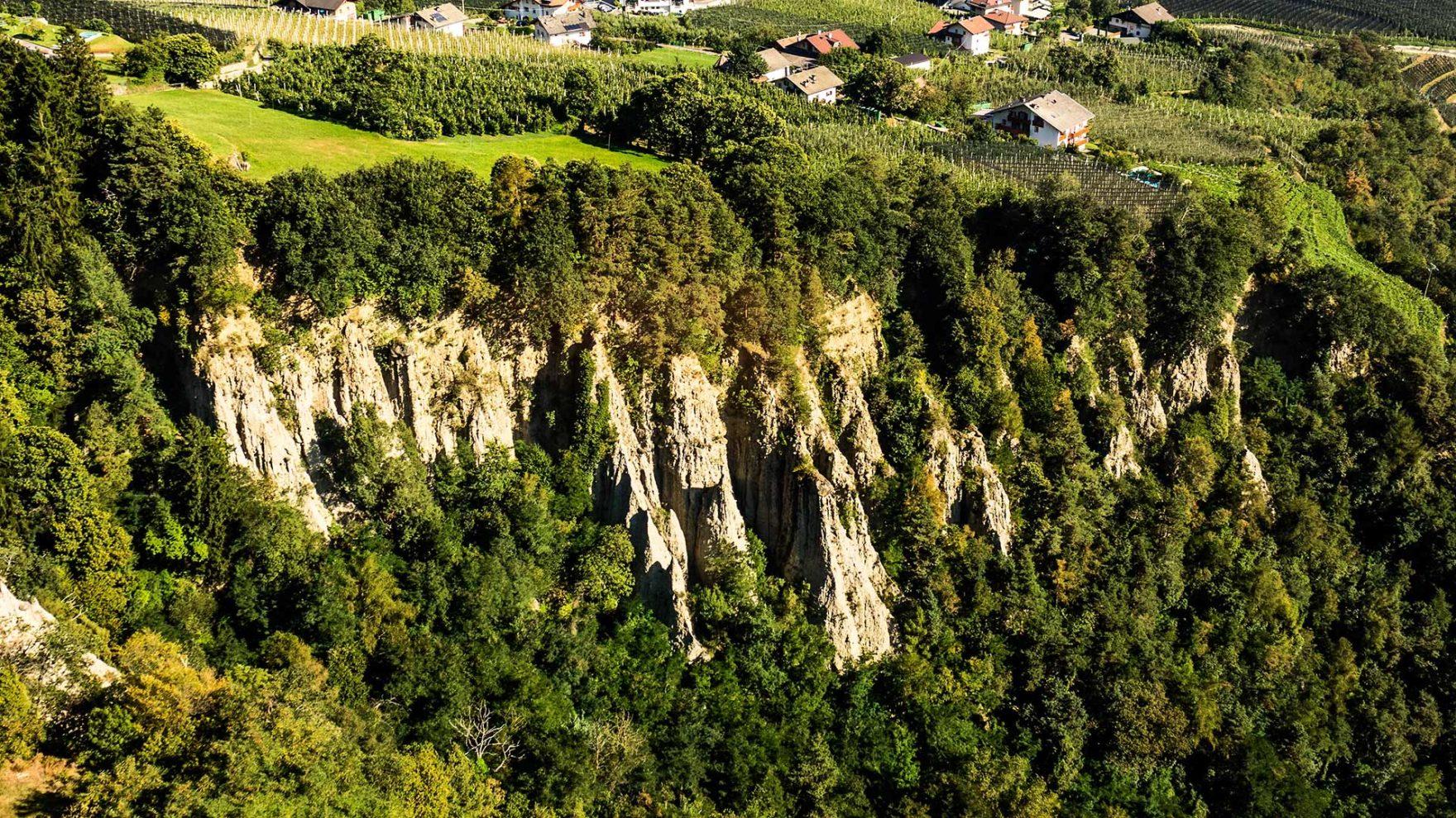Die Erdpyramiden von Dorf Tirol