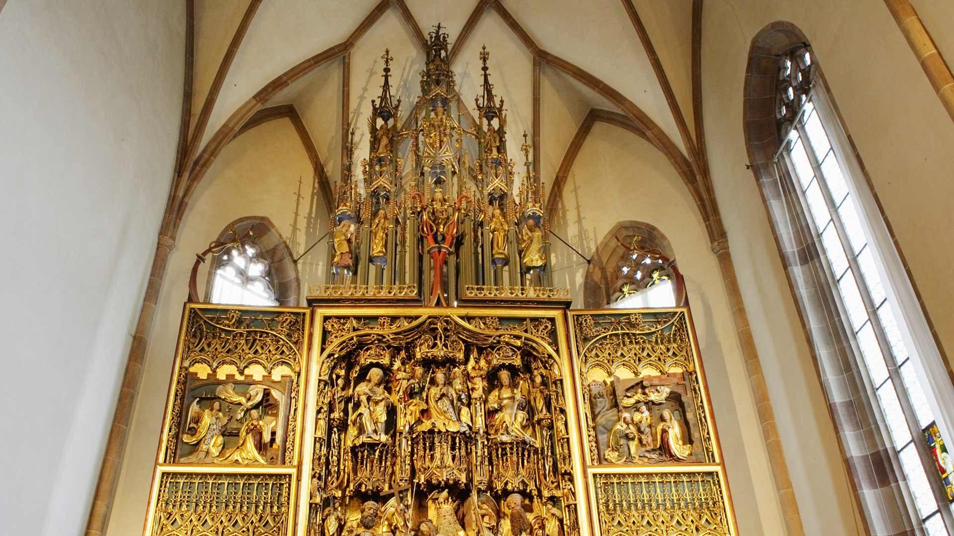 Der Schnatterpeck Altar in Lana