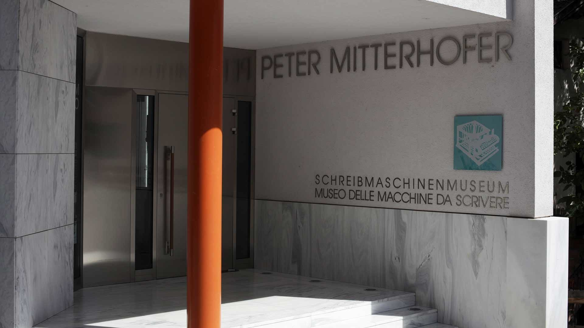 Schreibmaschinenmuseum Peter Mitterhofer in Partschins